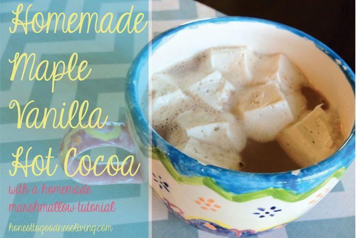 yummy, healthy sweet treat: Maple Vanilla Hot Cocoa :)