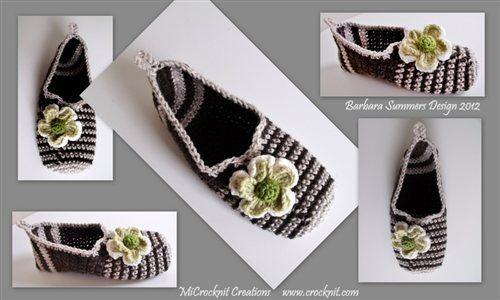 PATTERN Crochet Slippers TRAVELLER - Crochet Me