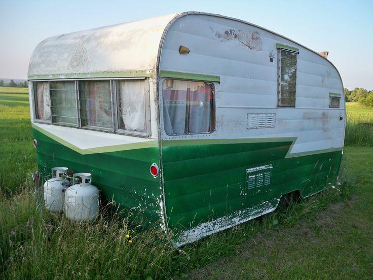 1961 vintage shasta travel trailer