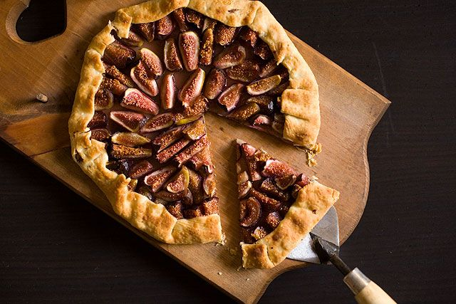 Fig Galette-use honey, and chia-sub sugar and flour with better things