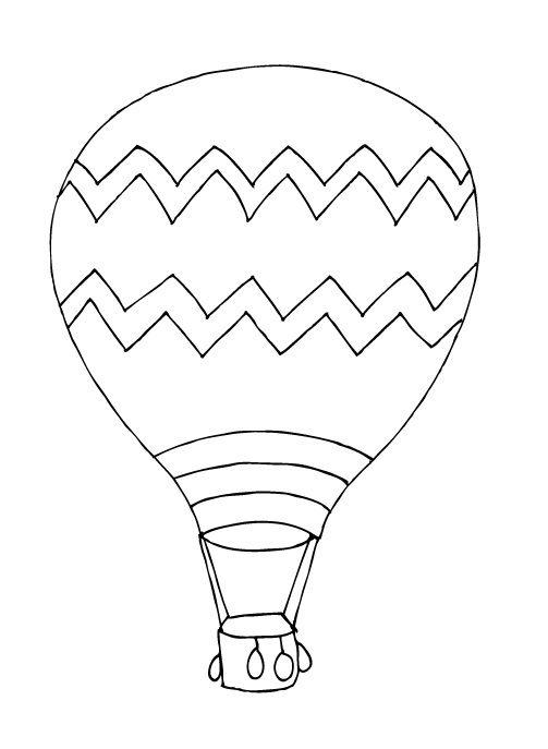 hot air balloon template baby shower ideas pinterest