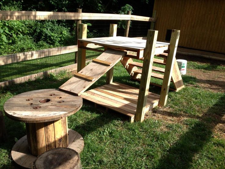 Dog Backyard Playground Ideas : Pallet Playground  All about pallets  Pinterest