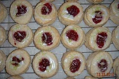 Thumbprint Jelly Biscuits