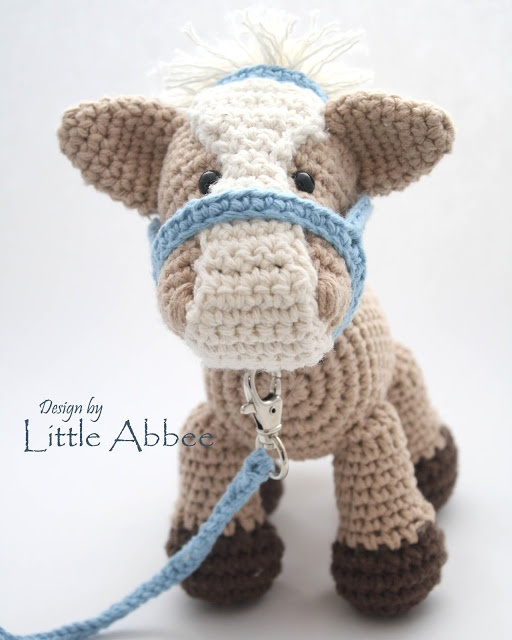 Amigurumi Year Of The Horse : Little Abbee: Crocheted Amigurumi Horse Cute Stuff ...