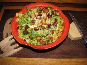 Caesar Salad with Chicken and Rice- 290 calories. CHICKEN DIJON'S ...