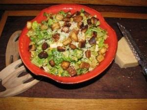 Caesar Salad with Chicken and Rice- 290 calories. CHICKEN DIJON'S ...