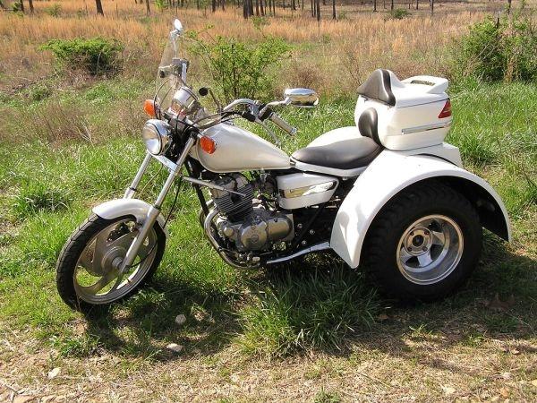 Honda rebel trike