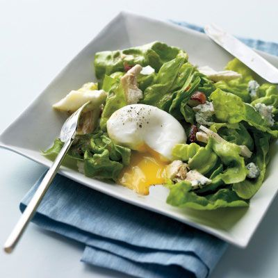 Cobb Salad with Poached Eggs Recipe on Delish.com - For the complete ...