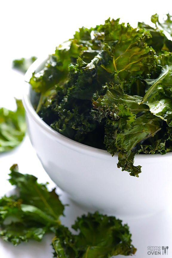 Sea Salt and Vinegar Kale Chips | Foods! | Pinterest