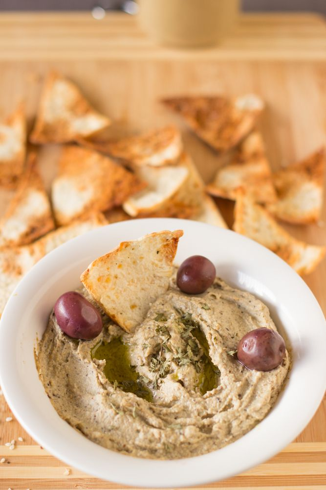 Baba Ghanoush is a creamy, classic Mediterranean eggplant dip that ...