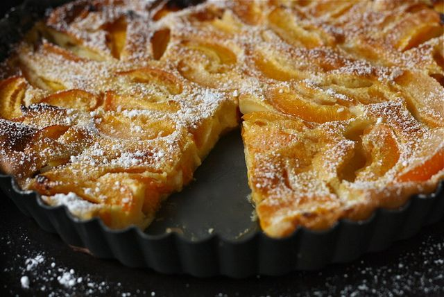 ensphere: Apricot Clafouti by honey drizzle on Flickr.