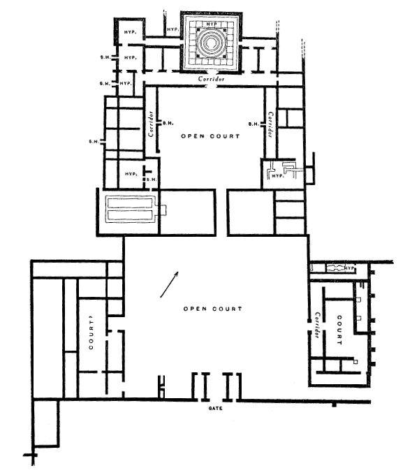 Tudor House Plans Tudor Style Ranch House Plans Pompton Lake 5 likewise Entablature besides Ancient Egyptian Houses Pictures besides Daily Life also Classic Greek Revival With Fly By 44042td. on ancient greek house floor plan