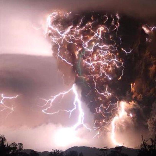 Tornado & lightning, Rome, GA
