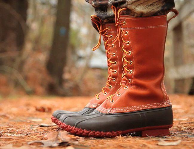Bean 100th Anniversary Maine Hunting Shoe
