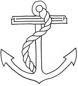 ship anchor drawing  Ship's Anchor 3