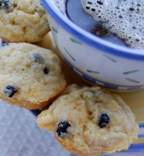 dried blueberry white chocolate lemon muffins