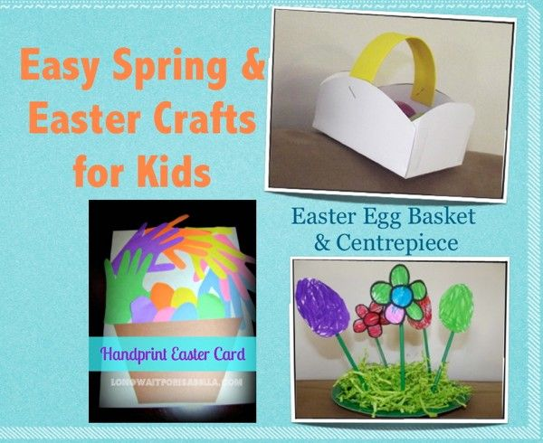 Easy Spring And Easter Crafts For Kids Being Tazim