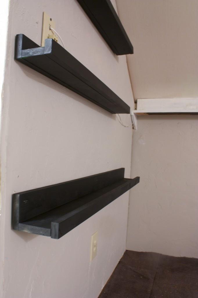 floating shelves for the home pinterest. Black Bedroom Furniture Sets. Home Design Ideas