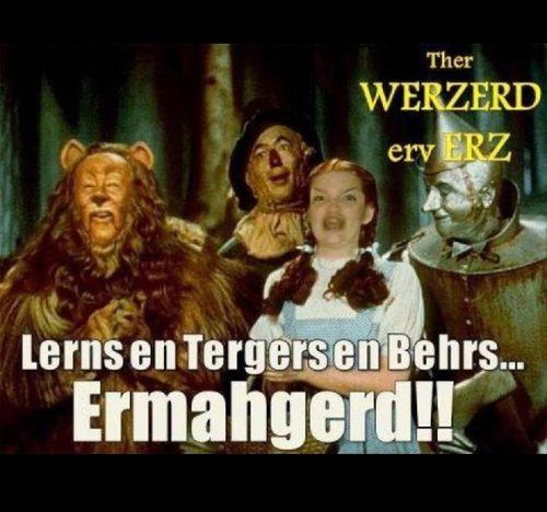 Ermergerd! Wizard of Oz!!