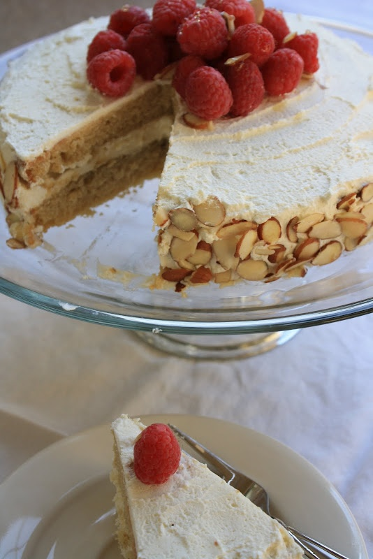 White Bean Cake. Made with agave (could sub raw honey) and Marscapone ...