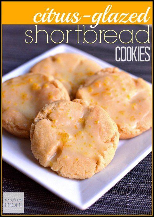 This citrus-glazed shortbread cookie recipe has a secret ingredient ...