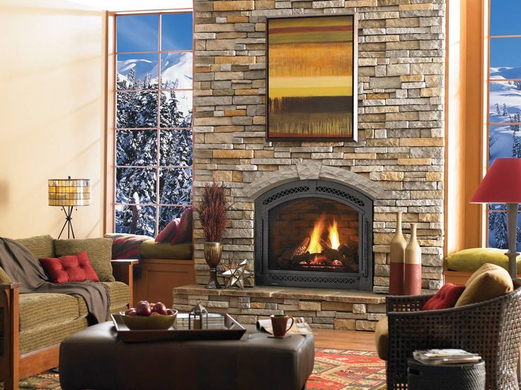 Heat Glo Cerona Gas Fireplace Living Space Pinterest