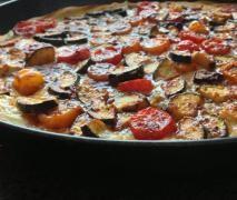Mediterane Tomate-Zucchini-Quiche | Thermomix Mains | Pinterest