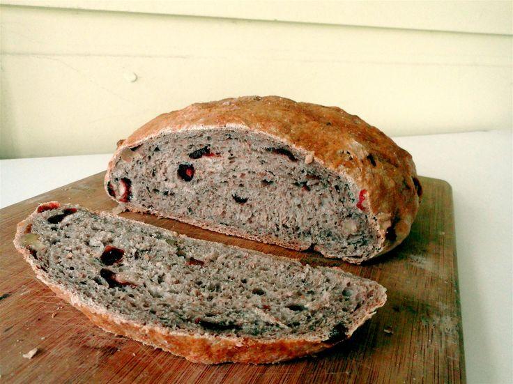 Cranberry Walnut Bread | Bread | Pinterest
