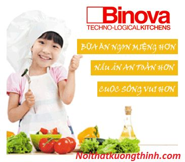 Nấu nướng tiện lợi hơn với bếp điện từ Binova