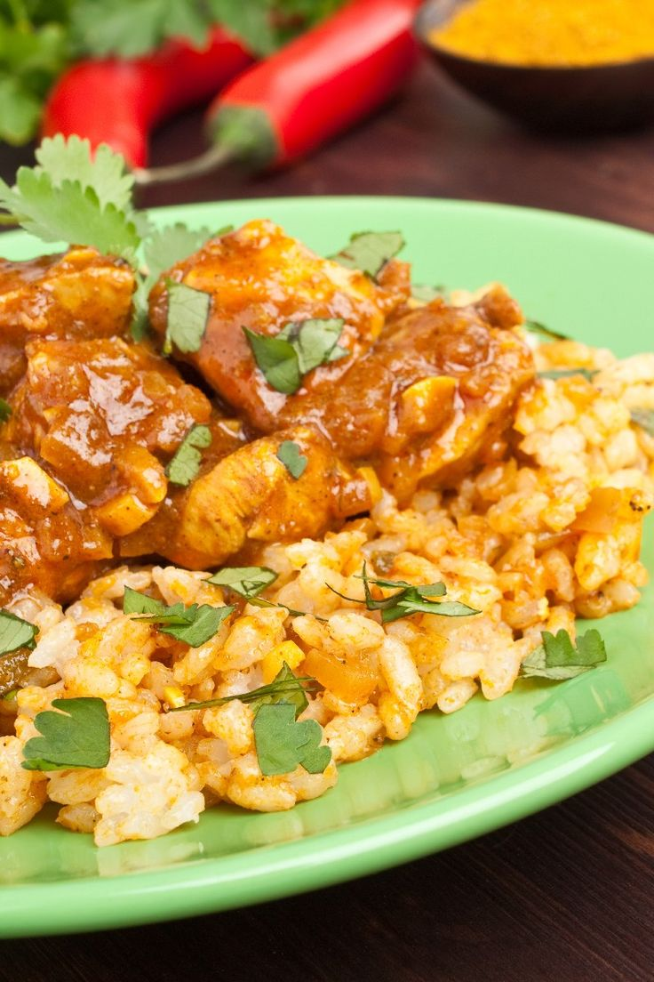 Chicken Curry in a Hurry Recipe | Food | Pinterest