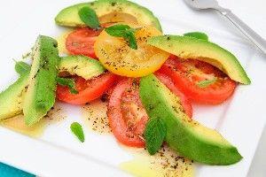 Tomato and Avocado Salad | Salads, Soups and Chili TOO! | Pinterest