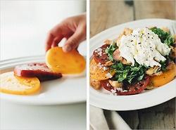 simple tomato burrata salad | Salad/Slaw/Dressing | Pinterest