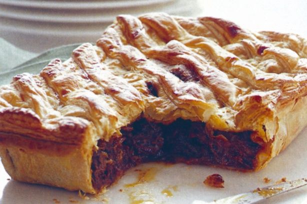... pie is guaranteed to please even the toughest critic. Curry lamb pie