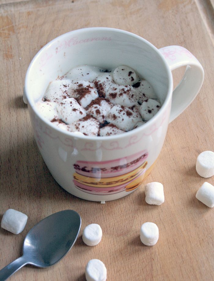 Chocolat chaud ultra onctueux via le blog Mango & Salt | Food & Drink...