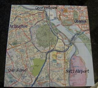 Three Sisterz: D.C. Map Coasters
