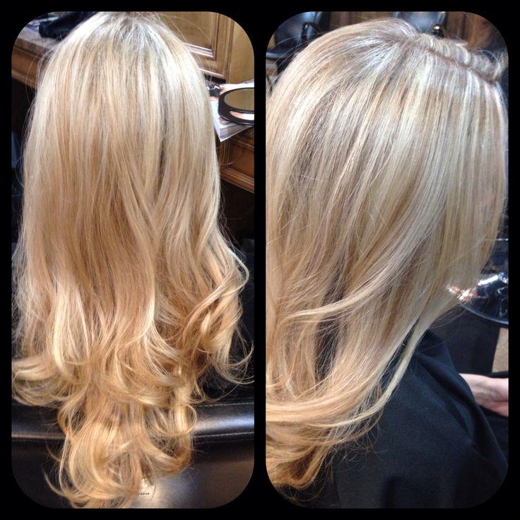 Lowlights : Blonde highlights and lowlights Hair Pinterest