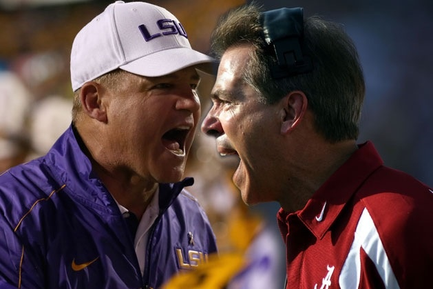 LSU vs. BAMA game is on. 3rd quarter and BAMA is up 14 to 3