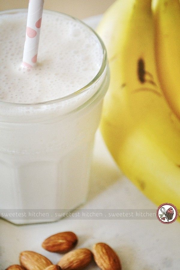 Banana Chai Smoothie - sweetest kitchen | Recipes | Pinterest