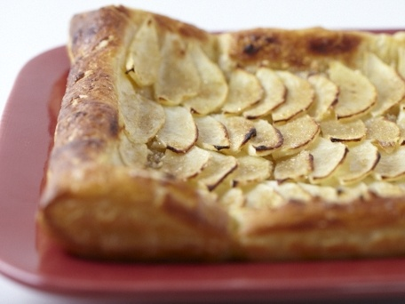 simple apple tart | Food that looks/sounds good/easy | Pinterest