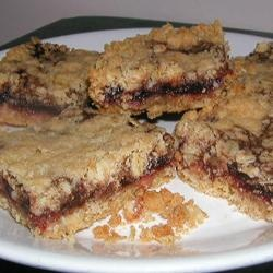 Delicious Raspberry Oatmeal Cookie Bars Allrecipes.com photo by Lucky ...