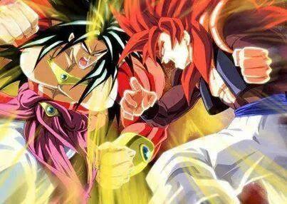 SSJ4 Broly vs SSJ4 Gogeta | Dragon Ball Ultimate Pics ...