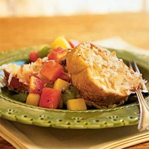 toast with tropical fruit compote recipe had this on vacation with ...