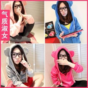 36.00 CNY | Animal ear hoodies | Pinterest