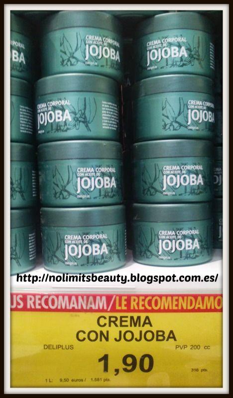 Crema corporal con aceite de Jojoba de Deliplús