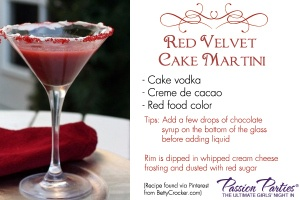 Red Velvet Cake Martini | Red Velvet Everything | Pinterest