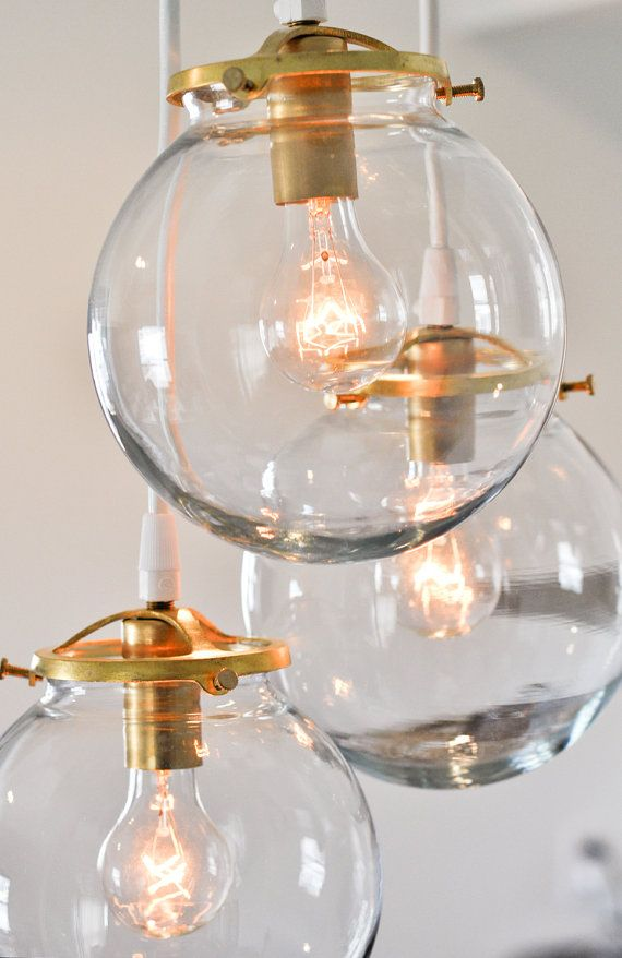 glass globe pendant fixtures on etsy not a bad price. Black Bedroom Furniture Sets. Home Design Ideas