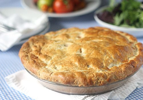 Tomato, Corn and Bacon Pie | Food | Pinterest