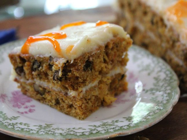 Carrot Cake with Cream Cheese Frosting SKIP the frosting and make our ...