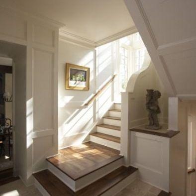 stair landing design living spaces pinterest