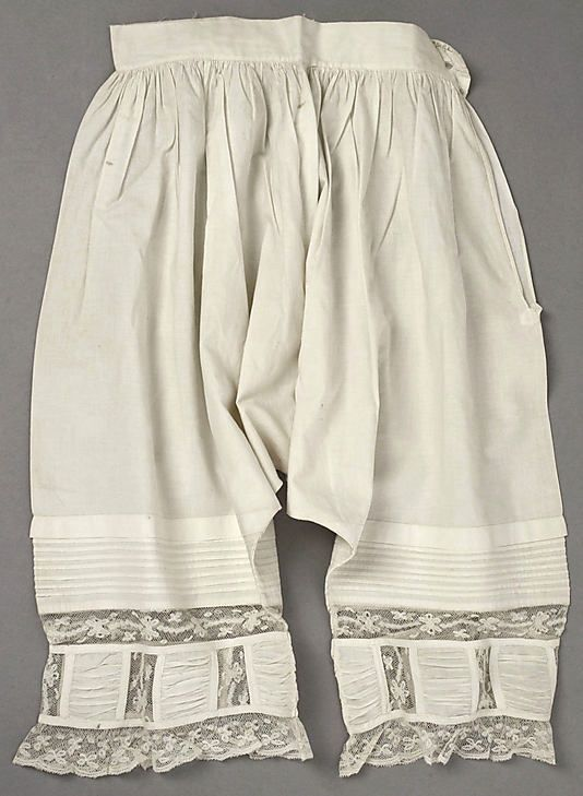 Wedding Lingerie, 1877, American, cotton
